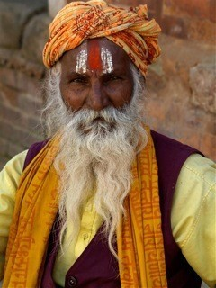 Merit Experienced Print Subject (People) Sadhu Photographer Patsy Williamson