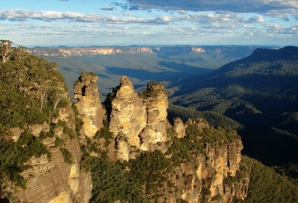 Merit Novice Projected Image Open Three Sisters - Blue Mountains Photographer Evan Rait