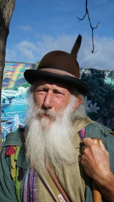A local character - Photography Ray Lovell