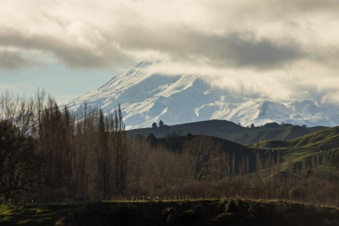 Mt Ruapehu in the distance - Photographer Tim Smith