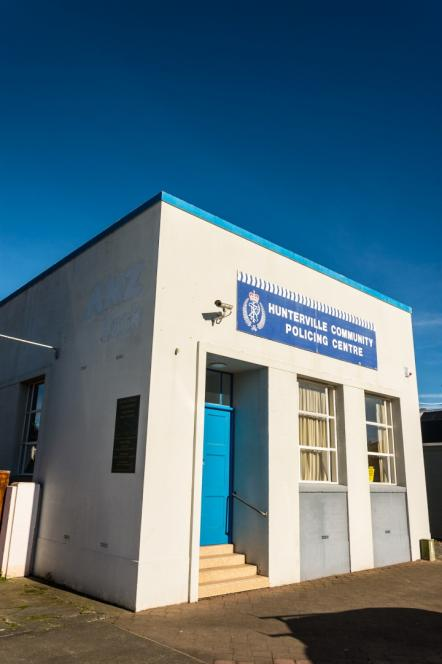 Hunterville Police Station - Photographer Tim Smith